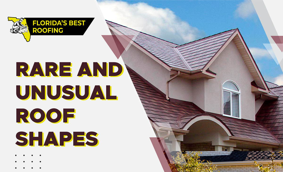 we will provide you with information on rare and unusual roof shapes