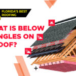 What is Below Shingles on a Roof?