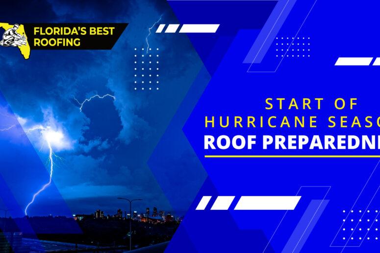 start of hurricane season.